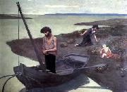 Pierre Puvis de Chavannes The Poor Fisherman oil painting picture wholesale
